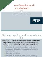 CLASE 2 SISTEMAS BASADOS EN EL CONOCIMIENTO