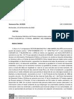 Recurso de amparo de Uruguay Sustentable contra UPM