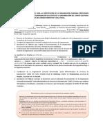 6. Modelo acta de constitución de la OC, estatutos y Comité Electoral