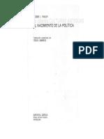 Finley_Participación Política