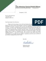 Letter Rep-elect Erik Mortensen