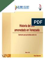 HISTORIA DEL ORO AMONEDADO EN VENEZUELA.pdf