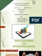 INDICADORES EN LA EPIDEMIOLOGÍA