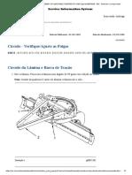 16H Motor Grader ATS00001-UP (MACHINE) POWERED BY 3196 Engine(SEBP3329 - 89) - Círculo - Verifique-Ajuste as Folgas