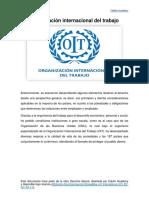 Organización internacional del trabajo.pdf