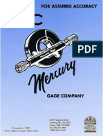 Metric Thread Gages - PMC Lone Star