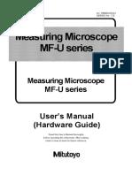 99MBA092A2 MF-U Microscope Hardware Guide