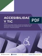 Accesibilidad y TIC