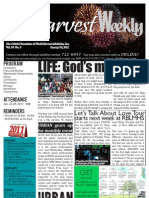 WHM Weekly Newsletter - 30 January 2011