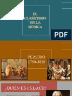 EL CLASICISMO EN LA MÚSICA - 1