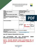 TALLER N°3 III PERIODO CLEI 4°01 al 406 -CIENCIAS SOCIALES  - DOCENTE RUTH MERY MEDINA P