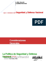 Politica de Seguridad y Defensa Nacional 2020-B