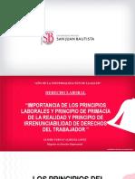 IMPORTANCIA DE LOS PRINCIPIOS LABORALES Y PRINCIPIOS
