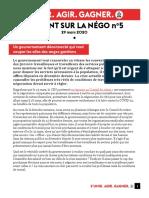 2020-03-29 - Le point sur la COVID-19 et la négociation no 5
