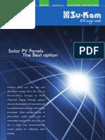 solar panel leaflet