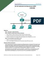 3.4.3.5 Lab - Address Resolution Protocol (ARP) - Anel Atencio