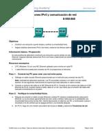 3.4.4.3 Lab - IP Addresses and Network Communications - Anel Atencio