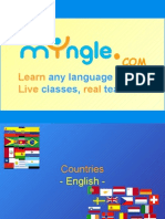 FOREIGN LANGUAGE TEMPLATE LESSON - COUNTRIES