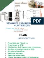 Résonance paramagnétique électronique