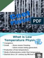 SAM Physics Assignment - Cryogenics