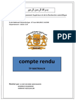 TP MATRIAUX Analyse granulometrie