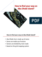 How to find your way in Abu Dhabi