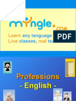 FOREIGN LANGUAGE LESSON TEMPLATE - PROFESSIONS