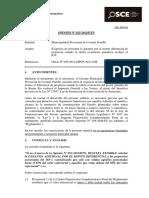 Opinión OSCE 025-13 - PRE - MUN.prov - Garantía Adicional Por Monto Diferencial