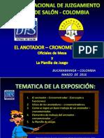 1. EL ACTA DE JUEGO DFS 2016