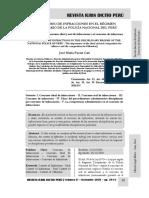 El Concurso de Infracciones en El Régimen Disciplinario de La Policía Nacional Del Perú - Autor José María Pacori Cari