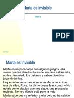Marta es invisible_1ª sesión_Taller de Habilidades Sociales