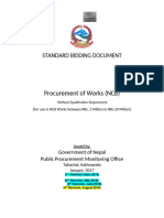 Detail project report and bidding documents