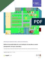 Melhoria da produtividade de uma instalação de manufatura usando planejamento sistematico