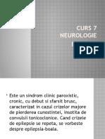 CURS 7 neurologie