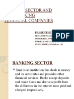 BANKING SECTOR AND NON-BANKING FINANCIAL COMPANIES ppt