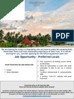 Job Flash - Multiple Positions..