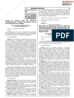 RESOLUCION ADMINISTRATIVA N° 000322-2020-CE-PJ