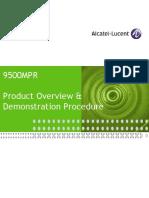 9500MPR Product&Demo Summary