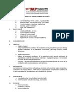 Plan de tutoría Arquitectura