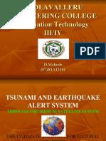 ppt abt tsunami