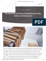 The Most Effective Way of Organizing Your Files and Folders.pdf