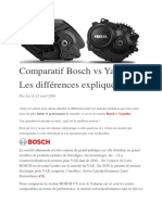 Comparatif Bosch vs Yamaha