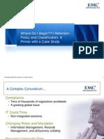 wheredoibeginretentionpolicynclassification-090715164220-phpapp02