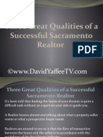 Three Great Qualities of a Successful Sacramento Realtor