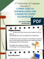 3 EL 117 MIDTERM Computers as ICT