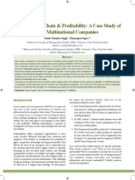 #2 - Green_Supply_Chain_ Profitability - A case studi of two multinational companies
