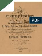 Invenciones Bach tres voces - Vol II (BWV 795 - 801)