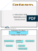 Kaizen - Strategy for performance excellence