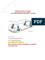 Hybrid Suspension Systems Using Fuzzy Logic Control