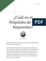 ¿Cuál es el Propósito de los Impuestos_ _ Vision América Latin
